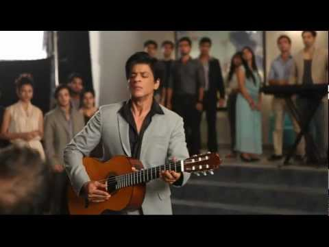 Shah Rukh Khans passionate acting during a shoot. Live & Unedited shooting video. He is intense!