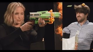 Jennifer Lawrence & Mockingjay Cast Prank SMOSH!