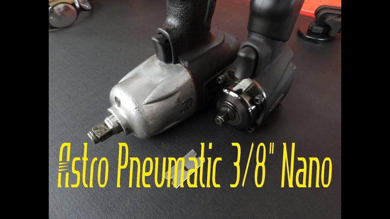 "Astro Pneumatic ONYX 1//2/"" Nano Impact Wrench 1822"