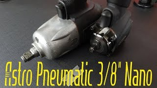 "Astro Pneumatic 1828 ONYX 3/8"" Nano Impact Wrench 450ft/lb - Video Review"