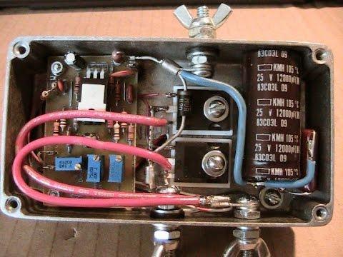 Regulador de voltaje 12v para celda de hho doovi for Cocinar 12v