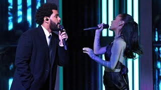 Download The Weeknd ft. Ariana Grande - Save your tears Remix live Form iheard Radio Music Awards 2021!!
