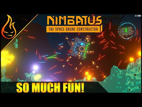 Create Custom Drones and Fight In Nimbatus Space Drone Constructor