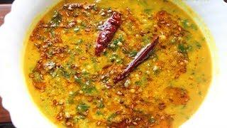 পালং শাক দিয়ে ডাল রেসিপি ||  Palong Shak and Dal Recipe|| পালং ডাল