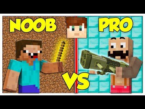 ABBIAMO TROVATO LE ARMI NOOB CONTRO PRO DI LUCA! - Minecraft ITA