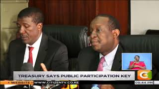 Rotich, MPs differ on budget process