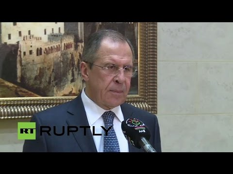 LIVE: Lavrov's visit to Algeria - Press briefing following Meeting with Abdelaziz Bouteflika