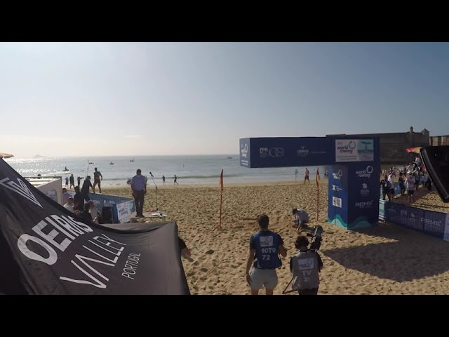 2021 World Rowing Beach Sprint Finals - Morning Timelapse