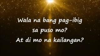 Wala Na Bang Pag-ibig (Lyics) Male Cover