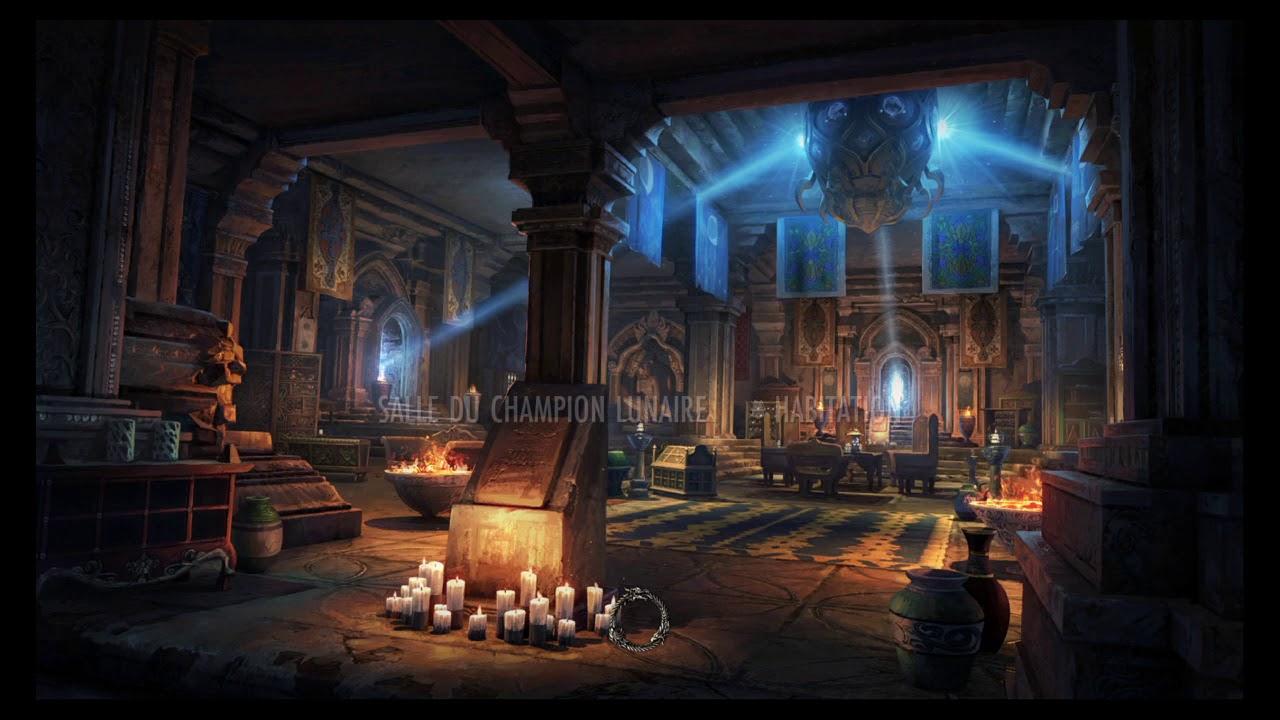 Maison De La Salle the elder scrolls online: maison salle du champion lunaire