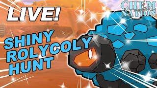 LIVE! SHINY ROLYCOLY/SIZZLIPEDE HUNT   Pokemon Sword and Shield