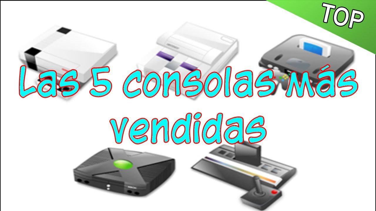 top 5 consolas de videojuegos
