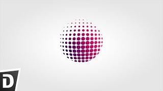 HalfTone Globe Logo - Inkscape Tutorial