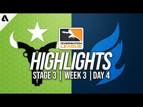 Houston Outlaws vs Dallas Fuel | Overwatch League Highlights OWL Stage 3 Week 3 Day 4