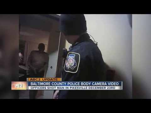 Baltimore County Police release body worn camera footage of Pikesville shooting