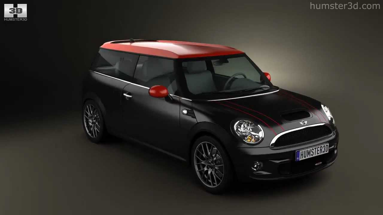 Mini John Cooper Works Clubman 2011 By 3D Model Store