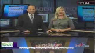Meteorologist Bryan Schuerman - Your Local Weather Leader Forecast - WHAG News at 11:00 - 10/21/13