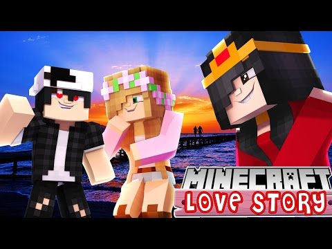 RAMONA AND LITTLE KELLY THROW A BIG SURPRISE FOR RAVEN  Minecraft Love Story  Custom Roleplay