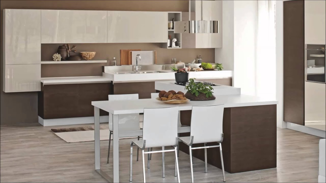 cucina moderna mod brava cucine lube torino youtube. Black Bedroom Furniture Sets. Home Design Ideas