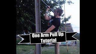 Как да се набера с една ръка ? Урок по набиране с една ръка / One Arm Pull-up Tutorial ENGLISH SUBS