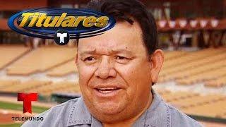 Entrevista exclusiva con Fernando Valenzuela | Titulares Telemundo | NBC Deportes