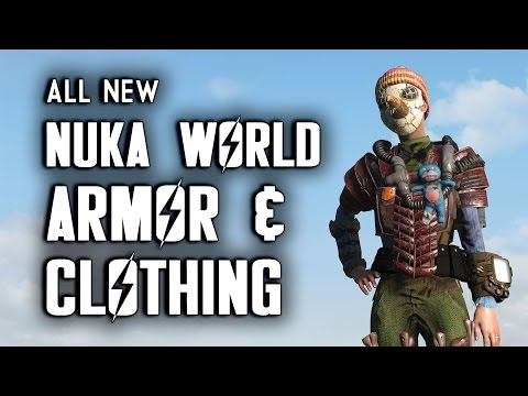 All Nuka World Armor, Clothing, Hats, & Eyewear - Nuka World Fallout 4