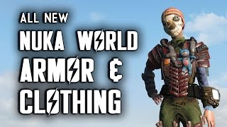 All Nuka World Armor, Clothing, Hats, & Eyewear - Nuka World Fallout 4