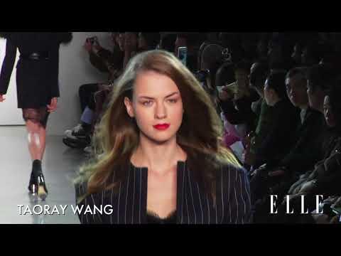 Taoray Wang FW18 Ready To Wear Show