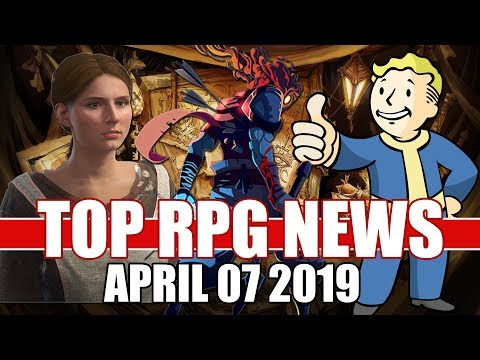 Top RPG News Of The Week - Apr 7 2019 (Kingdom Come Deliverance, Dead Cells And Fallout 76)