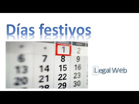Dias de descanso | Derecho Laboral | Legal Web