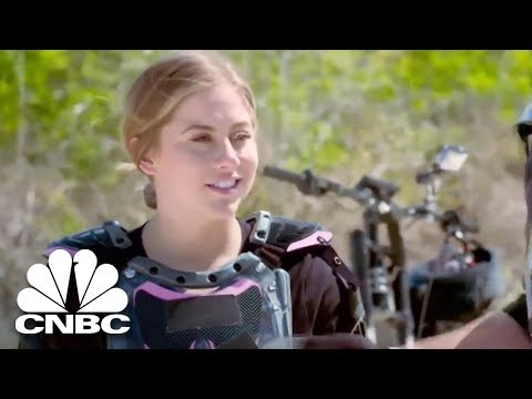 Shawn Johnson East Succumbs To Her Nerves On This Electric Bike | Adventure Capitalists | CNBC Prime