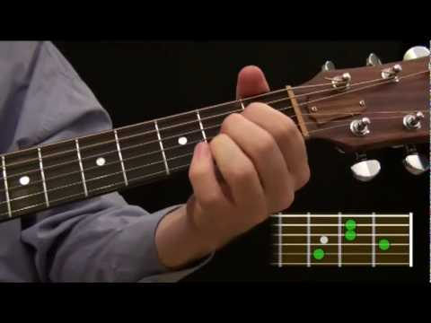 Part 6.6 - Beginner Guitar Course: Learn to Play an E7 Chord on the ...