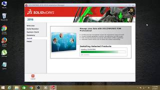 solidworks 2016 installation Guide for windows 7, 8, 8.1, 10