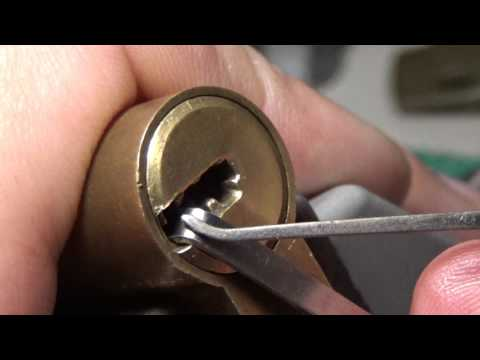 Взлом отмычками ABUS   108 ABUS EXTRA CLASSE SPP & GUTTED sub eng ()