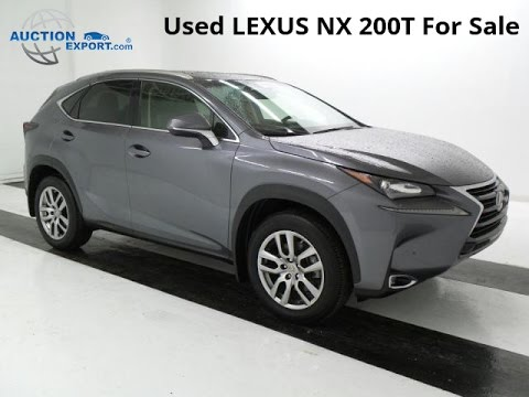 Lexus Nx 200t For Sale >> Used Lexus Nx 200t For Sale In Usa Shipping To Nigeria Youtube