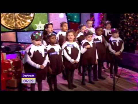 Boys and Girls of Holy Cross Primary School sings the Rocking Carol