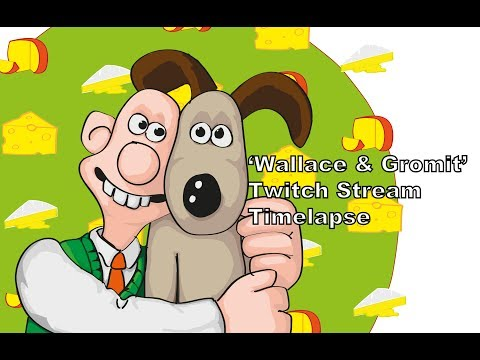 Twitch Stream Time Lapse - 'Wallace and Gromit' Peter Sallis Tribute