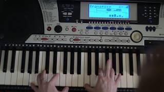 из мф ''шрек''-  аллилуя-  на пианино( синтезаторе)- урок 8