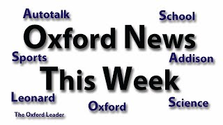 Oxford News This Week: 10-15-18