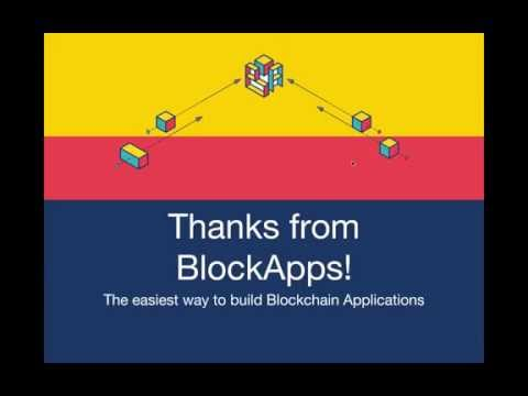 BlockApps: Build a blockchain application in 5 minutes