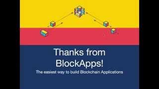 BlockApps: Build a blockchain application in 5 minutes