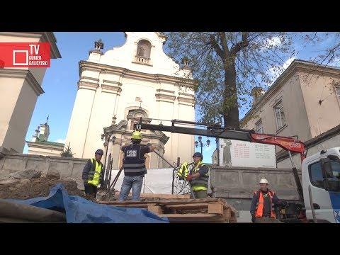 KurierGalicyjski: Renowacja schodów wejściowych kościoła pw. św. Antoniego we Lwowie