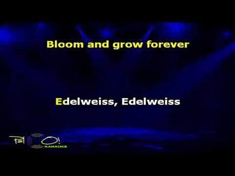 The Sound of Music   Edelweiss - Karaokê