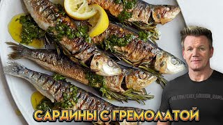 Сардины с гремолатой - рецепт от Гордона Рамзи