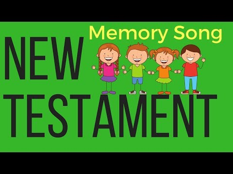 New Testament Books of the Bible Song for Kids