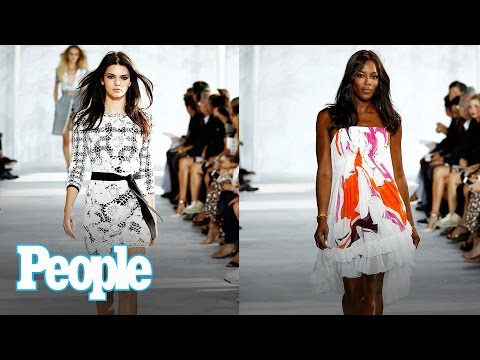 Kendall Jenner & Sailor Brinkley Cook Being Body Shamed: Naomi Campbell Reacts  People NOW  People