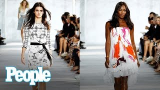 Kendall Jenner & Sailor Brinkley Cook Being Body Shamed: Naomi Campbell Reacts | People NOW | People