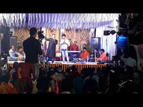 Sri charana Bhai and papu bhai stage program in baramunda