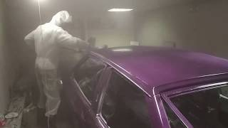 Полная покраска автомобиля (ВАЗ 2108) за 4110 рублей в гараже