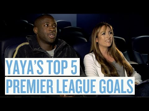Yaya Toure's Top 5 Premier League Goals